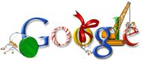 Google Christmas logo 7