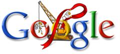 Google Christmas logo 8