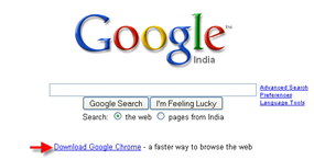 Google adds Google Chrome to their search