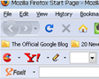 foxit ,yahoo toolbars installed  in Firefox with Foxit Reader and ccleaner