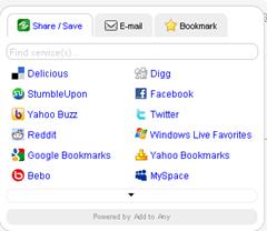 share_save widget