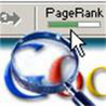 Google pagerank button