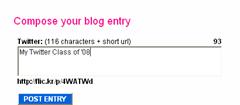compose your blog ewntry