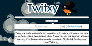 Is Twitter Blocked? try Twitxy