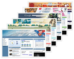 comic themes for igoogle