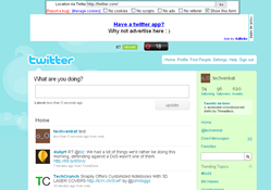twitter page in twitxy