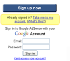 Google account Migration loop
