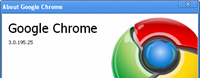 Google Chrome 3.0.195.25