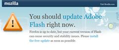 Flash _plugin_Warning_