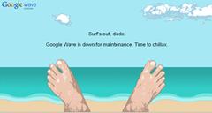 Google wave fail whale