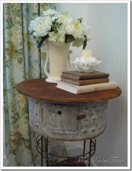 galvanized tub table