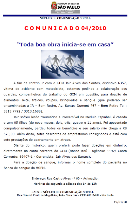 comunicado 04 2010