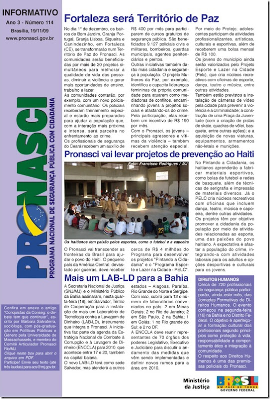 informativo_pronasci_20_11_09