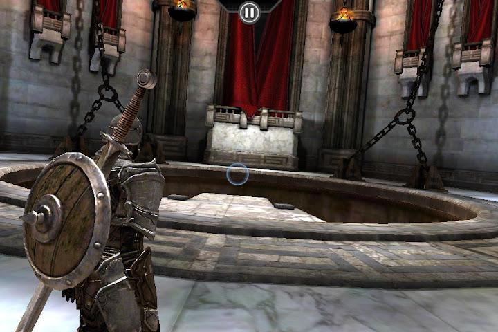 IMG_0038 Infinity Blade foi pensado originalmente para o Kinect