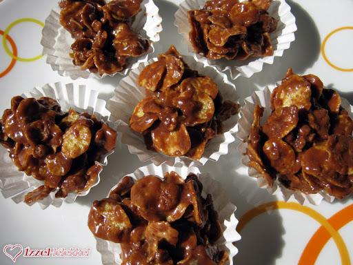 Nigella csokis-karamellás ropogósa