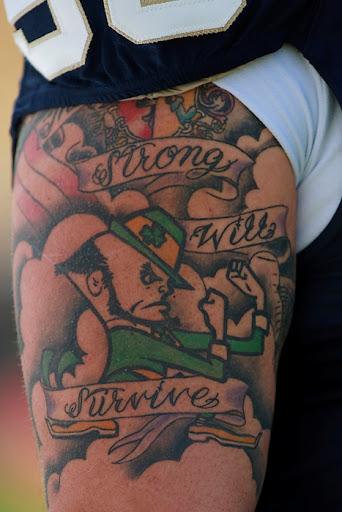 Fighting Irish. NCAA. Notre Dame