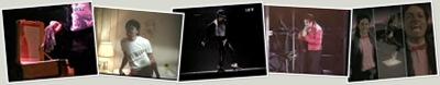 Exibir Michal Jackson e suas evoluções