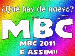 MBC 2011 ASSINATURA
