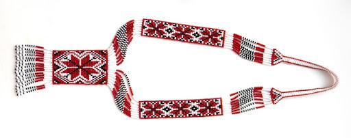 купить украшение из бисера алатырь славянский украина