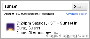 Sunset Surat Google Search