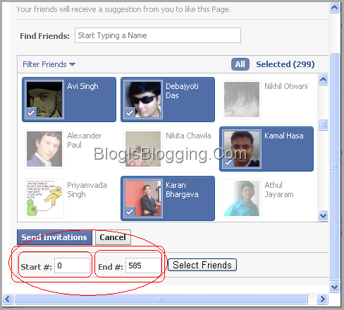 Greasemonkey script Select all facebook friends