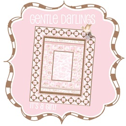 Gentle Darlings Quilt Kit - Pink
