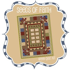 Seeds of Faith Quilt Kit - Green