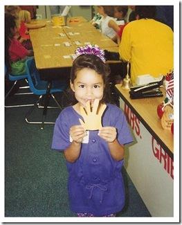 Amanda - 1st Grade!