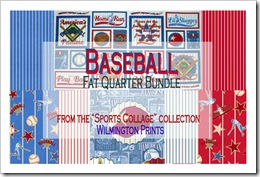Baseball Fat Quarter Bundle