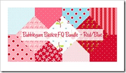 Bubblegum Basics FQ Bundle - Red/Blue