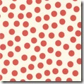 Snippets Polka Dot Red
