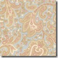 Aviary - French Paisley Blue #3964-12