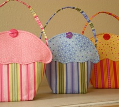 Little Girls Cupcake Tote