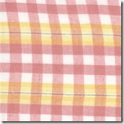 Spring Magic Lurex Yellow/Pink Plaid 12610-20