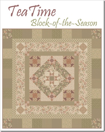 Tea Time Block of the Season