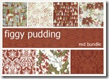 Figgy Pudding - FQ Bundle Red #30180ab-rd