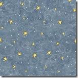 Village Charm - Stars Med. Blue #76277-445
