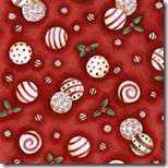 Peppermint Cottage - Peppermints Red #201-1