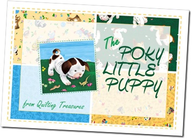 The Poky Little Puppy from Quilting Treasures