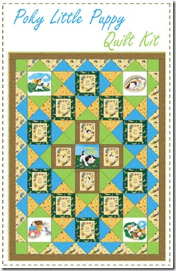 The Poky Little Puppy Quilt Kit