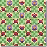 Angels Among Us - Floral & Hearts #20854-G