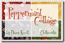 Peppermint Cottage by Dianne Knott for Clothworks