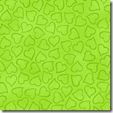 Komfort Kids - Heart Toss Lime #3300-304