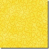Komfort Kids - Heart Toss Yellow #3300-302