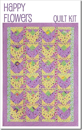 Happy Flowers Quilt Pattern-1 copy