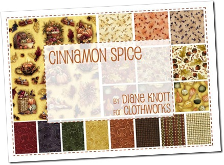 Cinnamon Spice by Dianne Knott for Clothworks