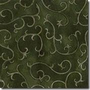 Cinnamon Spice -Tonal Swirl Green #224-25