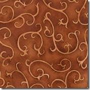 Cinnamon Spice - Tonal Swirl Rust #224-51