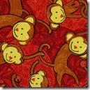 Safari So Good - Swinging Monkeys Red #433R