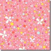 Girl Friday - Bubbles & Blossoms Pink #4270-E